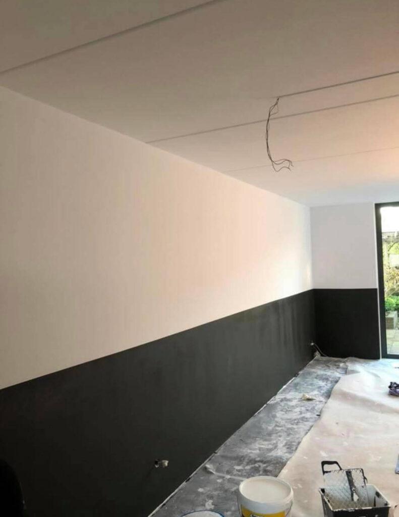 schilderen in een woonhuis dordrecht